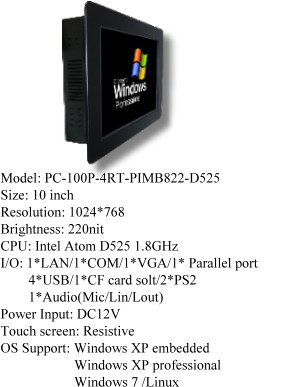 Power On World Wide-Panel PC, LCD Open Frame, LCD AD Board